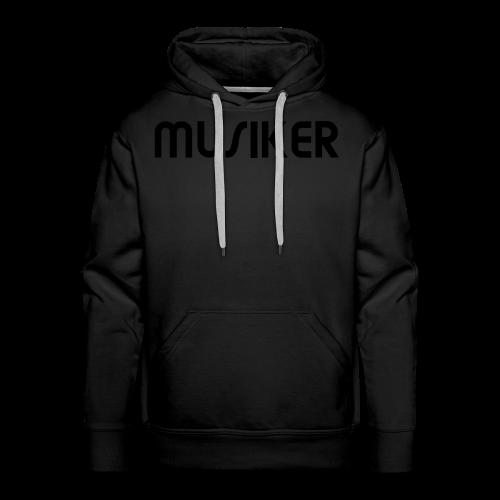 Shirt Musiker - Männer Premium Hoodie