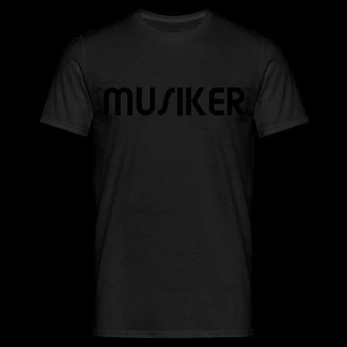 Shirt Musiker - Männer T-Shirt