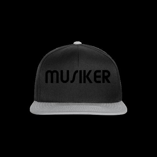 Shirt Musiker - Snapback Cap