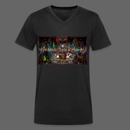 PSX_20180413_212310_20180413215047449 - Økologisk Stanley & Stella T-shirt med V-udskæring til herrer