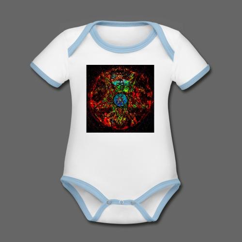 PSX_20180329_191026 - Kortærmet ækologisk babybody i kontrastfarver