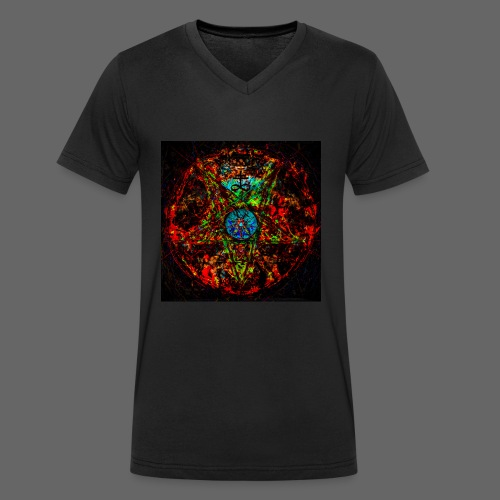 PSX_20180329_191026 - Økologisk Stanley & Stella T-shirt med V-udskæring til herrer