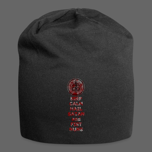 Keep Calm - Jersey-Beanie
