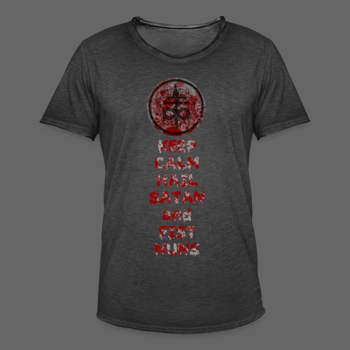 Keep Calm - Herre vintage T-shirt