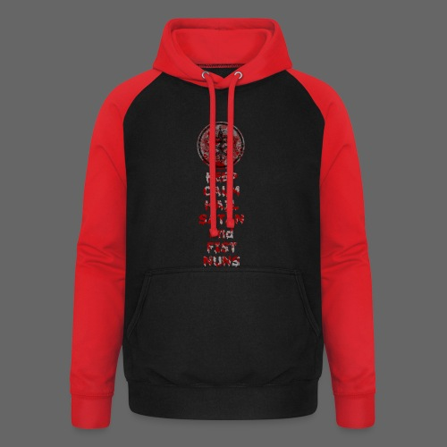 Keep Calm - Unisex baseball hoodie