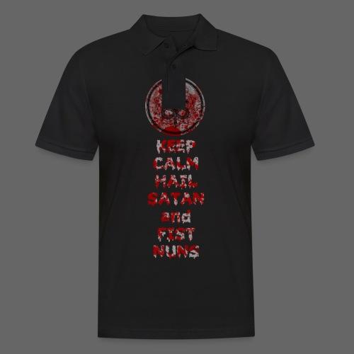 Keep Calm - Herre poloshirt