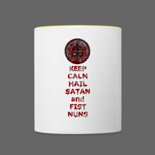 Keep Calm - Tofarvet krus