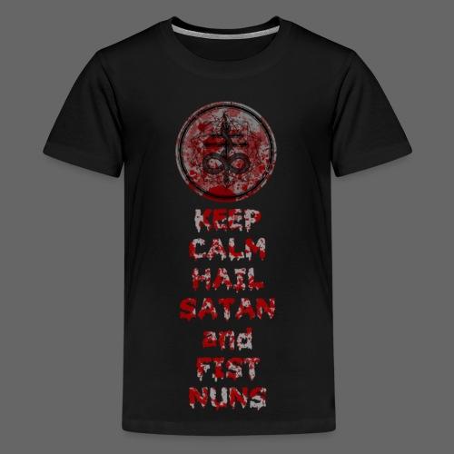 Keep Calm - Teenager premium T-shirt