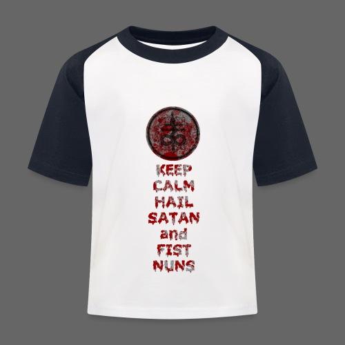 Keep Calm - Baseball T-shirt til børn