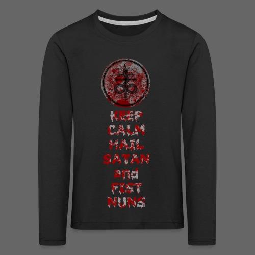 Keep Calm - Børne premium T-shirt med lange ærmer