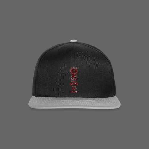 Keep Calm - Snapback Cap