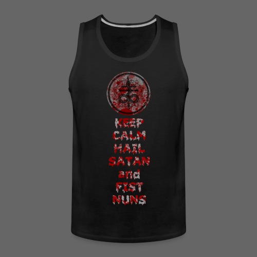 Keep Calm - Herre Premium tanktop