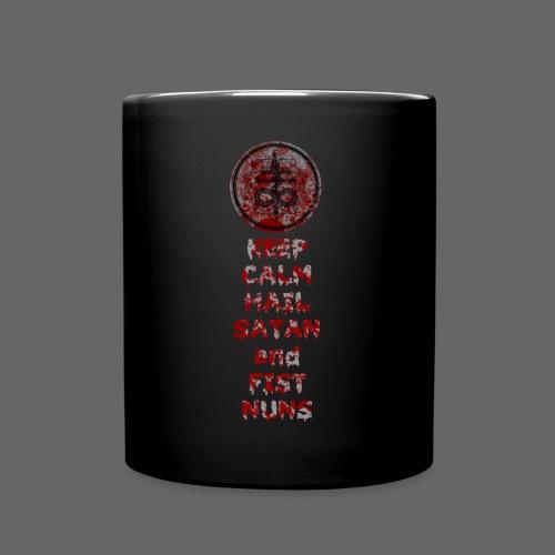 Keep Calm - Ensfarvet krus