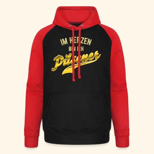 lustiges Bier-Shirt Pilsener - Unisex Baseball Hoodie