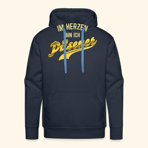 lustiges Bier-Shirt Pilsener - Männer Premium Hoodie