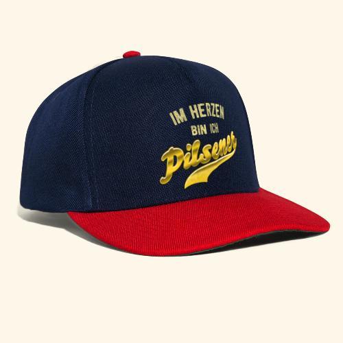 lustiges Bier-Shirt Pilsener - Snapback Cap