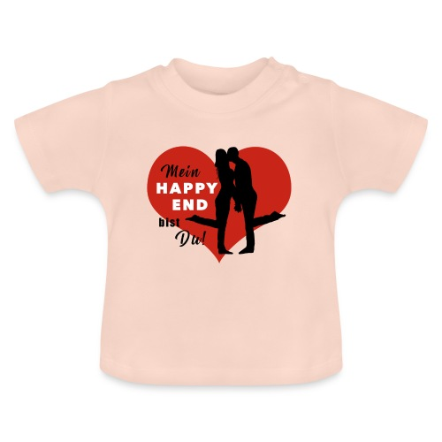 Happy End - schwarz - Baby T-Shirt