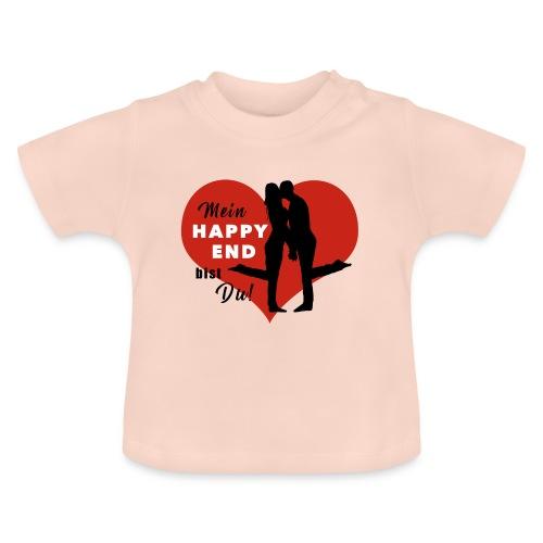 Happy End - schwarz - Baby T-Shirt