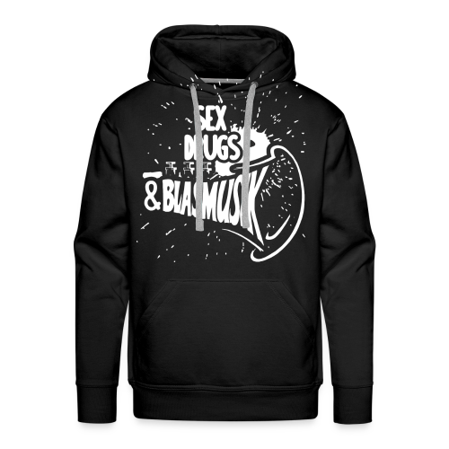 Shirt nur für Blasmusiker - Männer Premium Hoodie