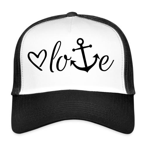 Anker Liebe Premium T-Shirt - Trucker Cap