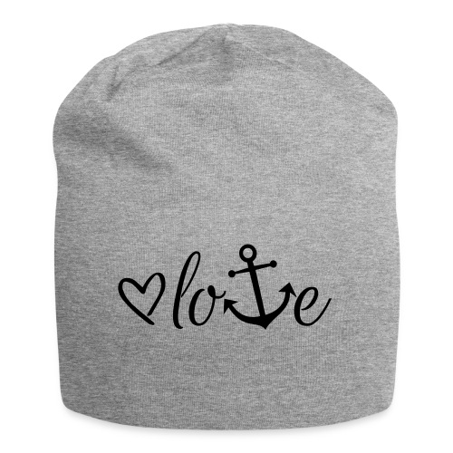 Anker Liebe Premium T-Shirt - Jersey-Beanie