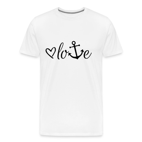 Anker Liebe Premium T-Shirt - Männer Premium T-Shirt