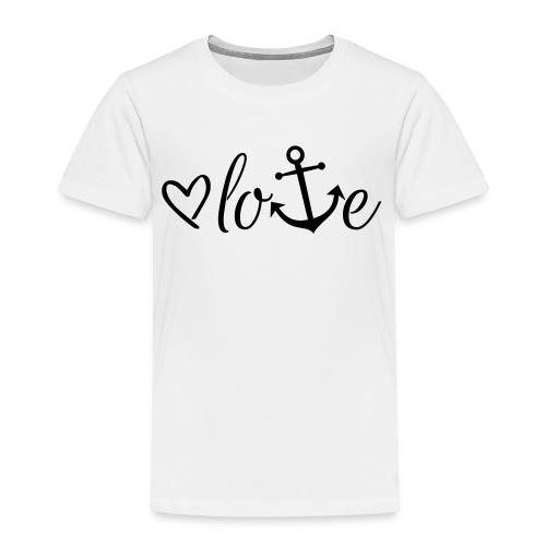 Anker Liebe Premium T-Shirt - Kinder Premium T-Shirt