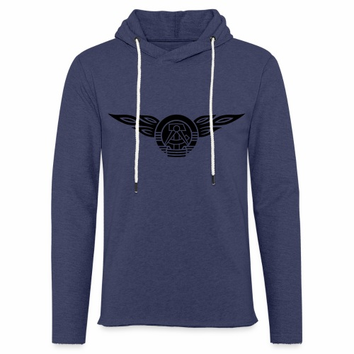 DDR Flammen Wappen 1c - Light Unisex Sweatshirt Hoodie