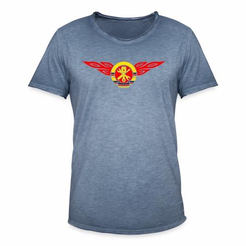 KFZ Flammen Wappen 3c - Men's Vintage T-Shirt