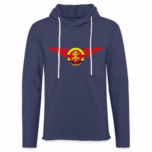 KFZ Flammen Wappen 3c - Light Unisex Sweatshirt Hoodie
