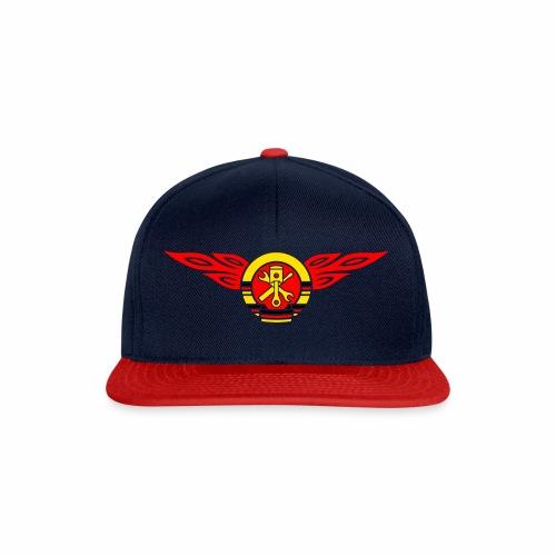 KFZ Flammen Wappen 3c - Snapback Cap