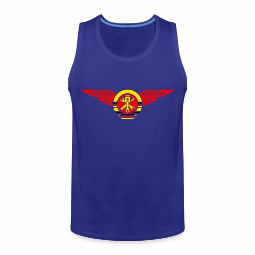 KFZ Flammen Wappen 3c - Men's Premium Tank Top