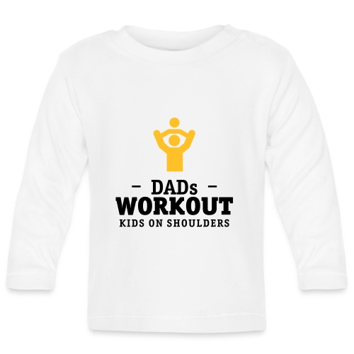 Dads Workout kids on shoulders