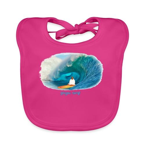 Yoga surf - Ekologisk babyhaklapp