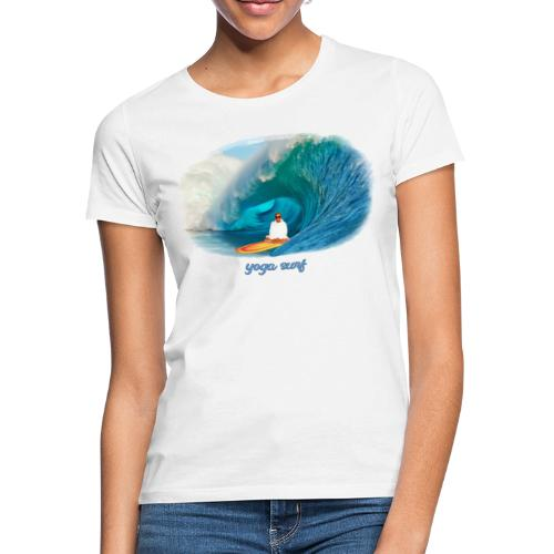 Yoga surf - T-shirt dam