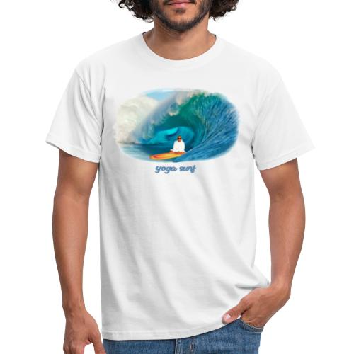 Yoga surf - T-shirt herr