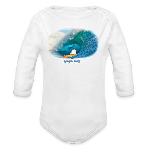 Yoga surf - Ekologisk långärmad babybody