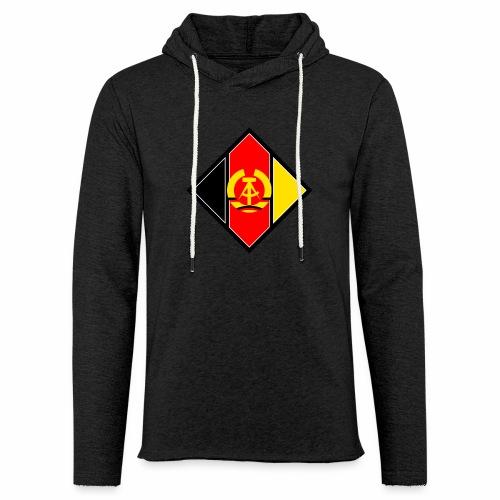DDR Wappen stilisiert - Light Unisex Sweatshirt Hoodie