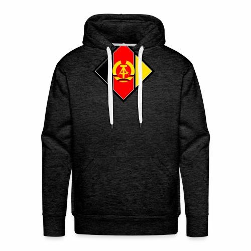 DDR Wappen stilisiert - Men's Premium Hoodie