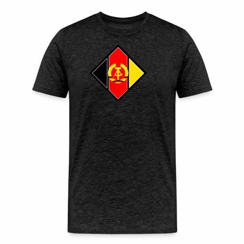 DDR Wappen stilisiert - Men's Premium T-Shirt