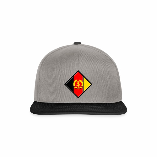 DDR Wappen stilisiert - Snapback Cap