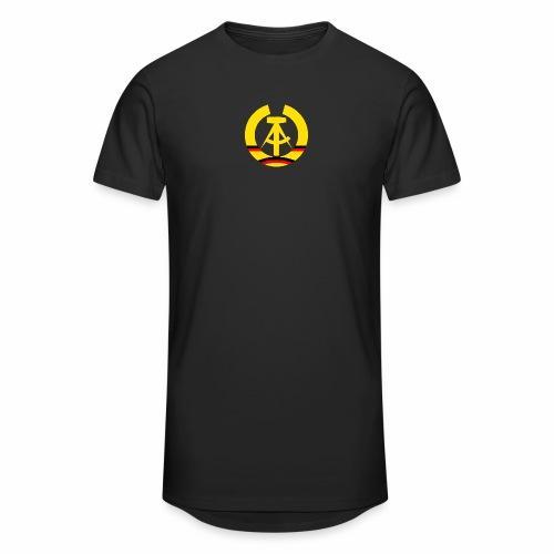 DDR Wappen stilisiert (alleinstehend) - Men's Long Body Urban Tee