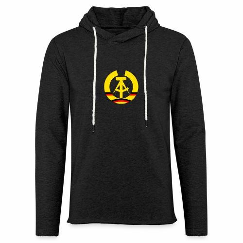 DDR Wappen stilisiert (alleinstehend) - Light Unisex Sweatshirt Hoodie
