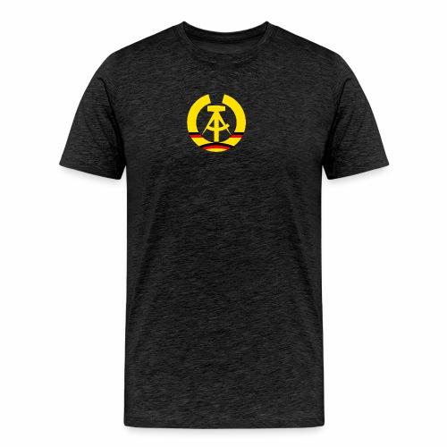 DDR Wappen stilisiert (alleinstehend) - Men's Premium T-Shirt