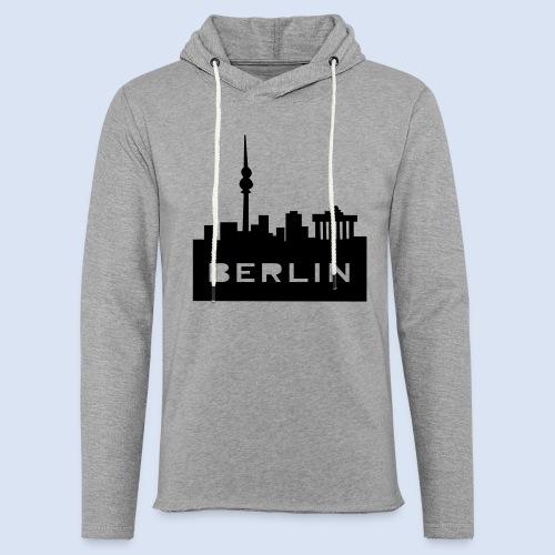BERLIN BERLIN - Berlin Skyline und Berlin Shirts #Berlin - Leichtes Kapuzensweatshirt Unisex