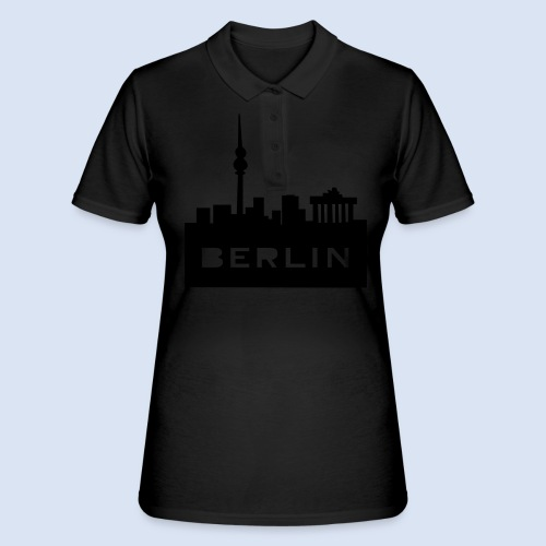 BERLIN BERLIN - Berlin Skyline und Berlin Shirts #Berlin - Frauen Polo Shirt