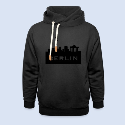 BERLIN BERLIN - Berlin Skyline und Berlin Shirts #Berlin - Schalkragen Hoodie