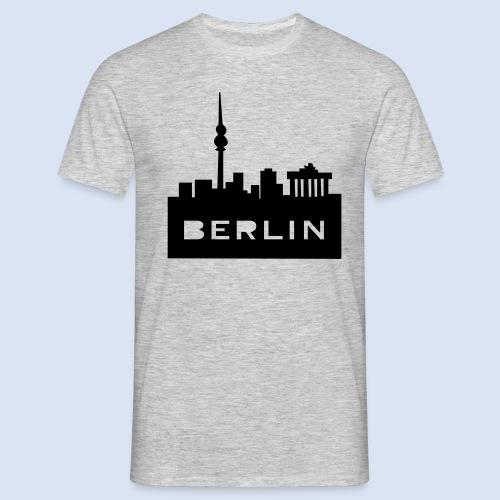 BERLIN BERLIN - Berlin Skyline und Berlin Shirts #Berlin - Männer T-Shirt
