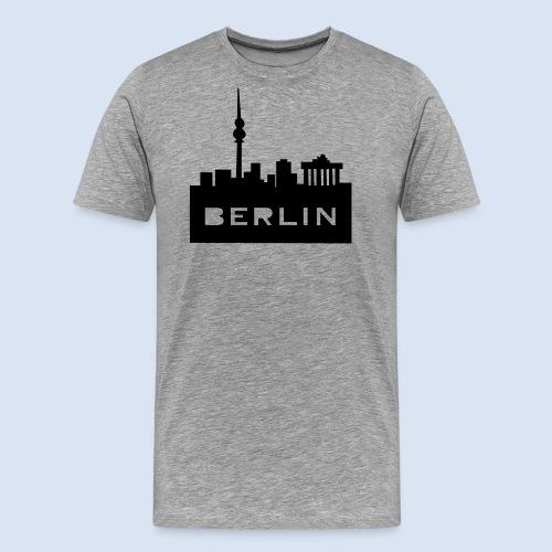 BERLIN BERLIN - Berlin Skyline und Berlin Shirts #Berlin - Männer Premium T-Shirt