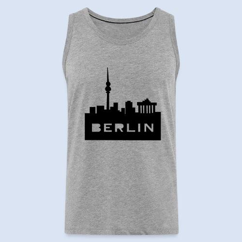 BERLIN BERLIN - Berlin Skyline und Berlin Shirts #Berlin - Männer Premium Tank Top
